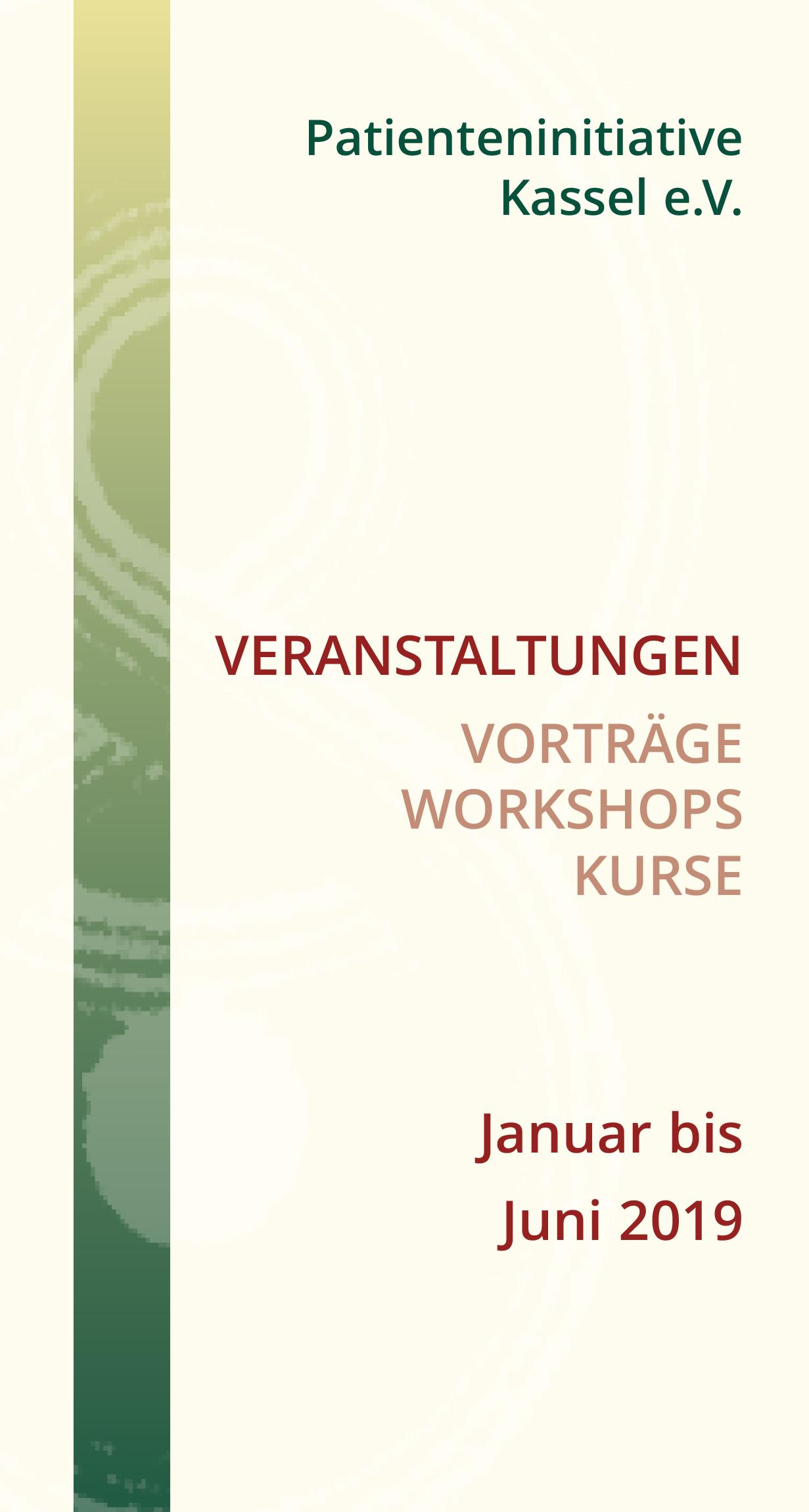 Programm Patienteninitiative Kassel